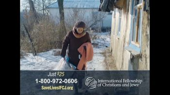 International Fellowship Of Christians and Jews TV Spot, 'Survival Package'