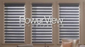 Hunter Douglas PowerView Shades TV Spot, 'Automatic Movement'
