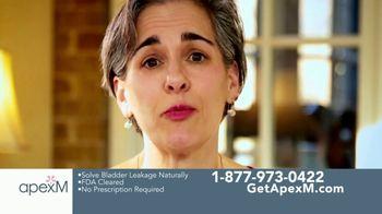 apexM TV Spot, 'Bladder Leakage Is Treatable' - Thumbnail 3