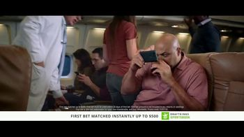 DraftKings Sportsbook TV Spot, 'Something's Wrong: Cash' Ft Charles Barkley - Thumbnail 1