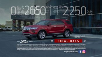 Ford Built for the Holidays Sales Event TV Spot, 'Both Sides' [T2] - Thumbnail 6