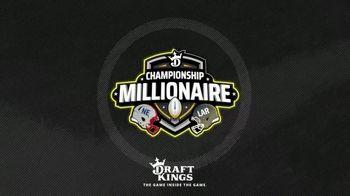 DraftKings TV Spot, '2019 Championship Millionaire'