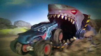 Hot Wheels Monster Trucks Mecha Shark Face-Off TV Spot, 'Avoid the Shark'