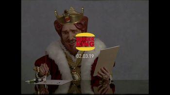 Burger King Super Bowl 2019 Teaser TV Spot, 'Art Takes Time.' - Thumbnail 8