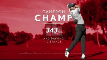 Srixon Golf Z-Star TV Spot, 'The Longest on Tour' Featuring Cameron Champ
