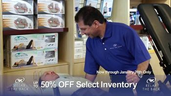 Relax the Back Clearance Sale TV Spot, 'Relieve Back and Muscle Pain' - Thumbnail 2