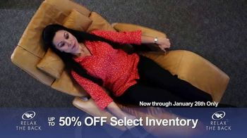 Relax the Back Clearance Sale TV Spot, 'Relieve Back and Muscle Pain' - Thumbnail 9