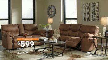 Ashley HomeStore New Year's Sale TV Spot, 'Extended: Sofa, Dining Set and Queen Bed' - Thumbnail 4