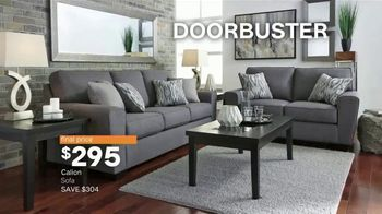 Ashley HomeStore New Year's Sale TV Spot, 'Extended: Sofa, Dining Set and Queen Bed' - Thumbnail 7