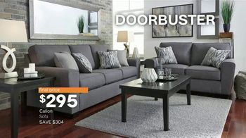 Ashley HomeStore New Year's Sale TV Spot, 'Extended: Sofa, Dining Set and Queen Bed' - Thumbnail 8