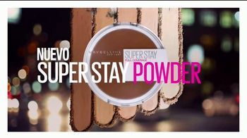 Maybelline New York Super Stay Powder TV Spot, 'Cobertura total' [Spanish] - Thumbnail 7