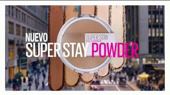 Maybelline New York Super Stay Powder TV Spot, 'Cobertura total' [Spanish]