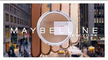 Maybelline New York Super Stay Powder TV Spot, 'Cobertura total' [Spanish] - Thumbnail 3