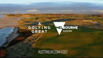 Tourism Australia TV Spot, 'The Royal Melbourne Golf Club' - Thumbnail 10