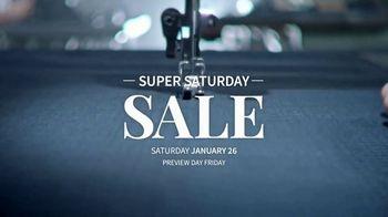 JoS. A. Bank Super Saturday Sale TV Spot, 'Suits, Dress Shirts and Sport Shirts' - Thumbnail 1