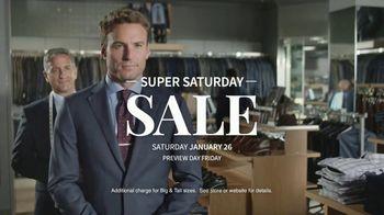 JoS. A. Bank Super Saturday Sale TV Spot, 'Suits, Dress Shirts and Sport Shirts' - Thumbnail 6