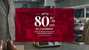JoS. A. Bank Super Saturday Sale TV Spot, 'Suits, Dress Shirts and Sport Shirts' - Thumbnail 2