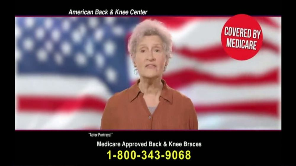 00d490b53b Back and Knee Brace Center TV Commercial, 'Everyday Back Pain' - iSpot.tv