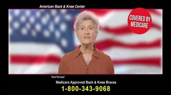 Back and Knee Brace Center TV Spot, 'Everyday Back Pain'