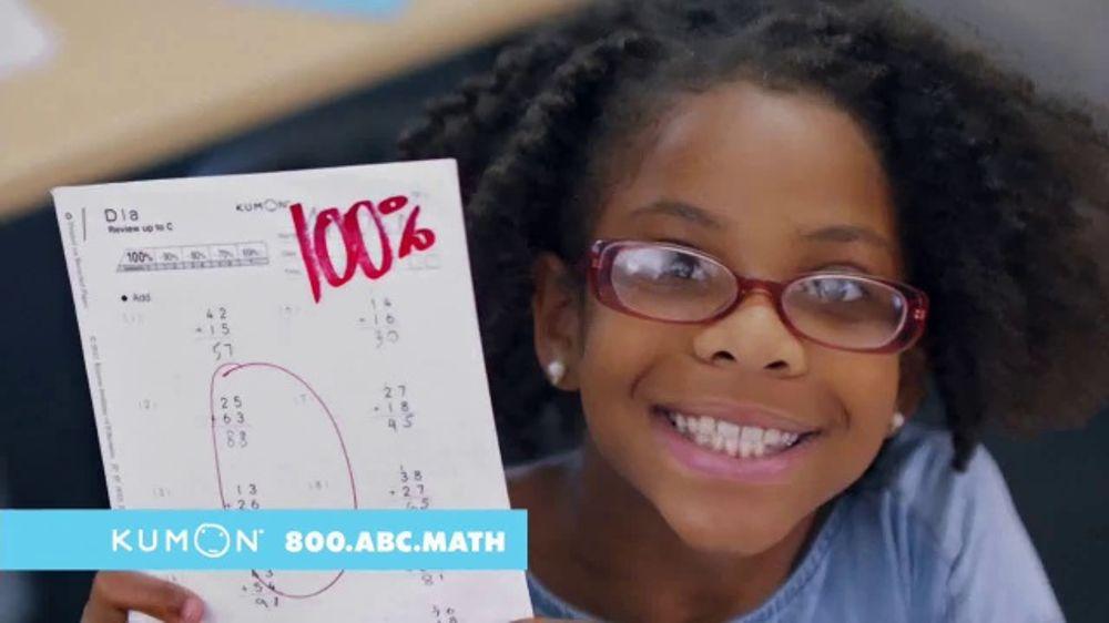 Kumon TV Commercial, 'Excel in School'