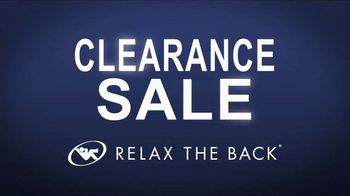 Relax the Back Clearance SaleTV Spot, 'Select Inventory'