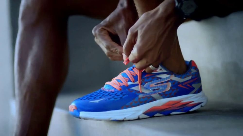timeless design 9cb0b f440b SKECHERS Go Run Ride 7 TV Commercial, 'Greatness: Chevron Houston Marathon'  - Video