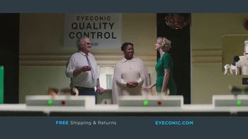 Eyeconic TV Spot, \'Behind the Scenes: Shipping and Returns\'