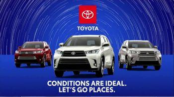 2019 Toyota Highlander TV Spot, 'Weather Forecast: Safety' [T2] - Thumbnail 7