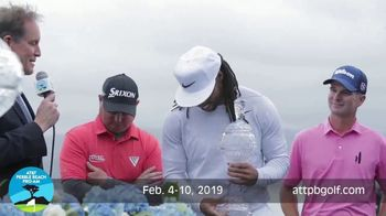 2019 AT&T Pebble Beach Pro-Am TV Spot, 'World's Best' Featuring Larry Fitzgerald - Thumbnail 2