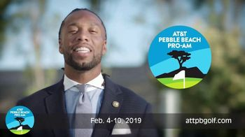 2019 AT&T Pebble Beach Pro-Am TV Spot, 'World's Best' Featuring Larry Fitzgerald - 18 commercial airings