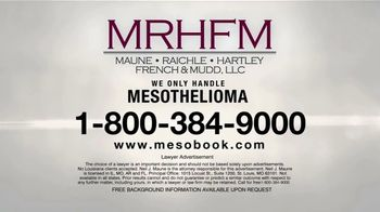 MRHFM Law Firm TV Spot, 'Only Meso' - Thumbnail 6