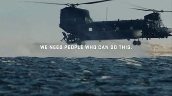 U.S. Air Force TV Spot, 'Special Ops: We Need People Who Can Do This'