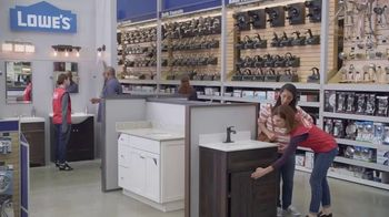 Lowe's TV Spot, 'Half Bath: Select Bath Faucets' - Thumbnail 5