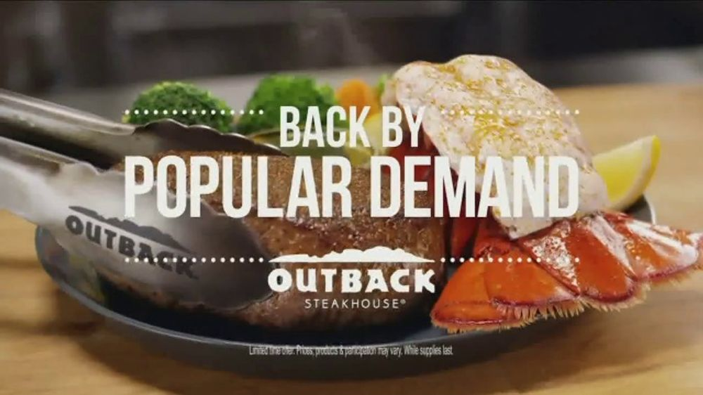 Outback Steakhouse Steak & Lobster TV Commercial, 'Steak & Lobster is Back'