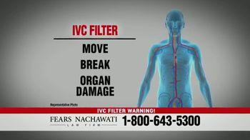 Fears Nachawati TV Spot, 'IVC Filter Warning' - Thumbnail 2