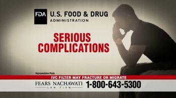 Fears Nachawati TV Spot, 'IVC Filter Warning' - Thumbnail 3