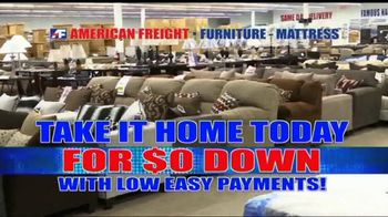 American Freight Red Tag Blowout TV Spot, 'Take It Home Today' - Thumbnail 3