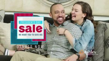 Ashley HomeStore Presidents Day Sale TV Spot, 'New Styles for Every Room'