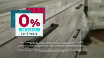 Ashley HomeStore Presidents Day Sale TV Spot, 'New Styles for Every Room' - Thumbnail 6
