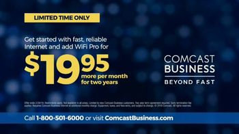 Comcast Business TV Spot, 'We Go Beyond Fast' - Thumbnail 10