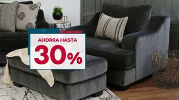 Ashley HomeStore Presidents Day Sale TV Spot, 'Nuevos estilos para cada habitación' [Spanish] - Thumbnail 4
