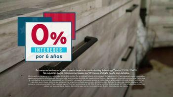 Ashley HomeStore Presidents Day Sale TV Spot, 'Nuevos estilos para cada habitación' [Spanish] - Thumbnail 6