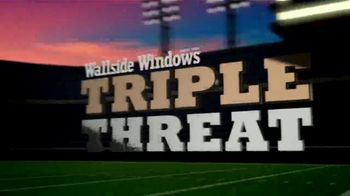 Wallside Windows Super Sale LXXV TV Spot, 'It's Time for Kickoff: Buy One Get One'