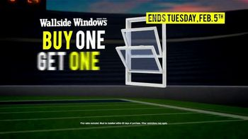 Wallside Windows Super Sale LXXV TV Spot, 'It's Time for Kickoff: Buy One Get One' - Thumbnail 6