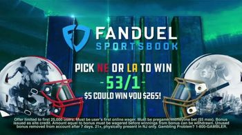 FanDuel Sportsbook TV Spot, 'More Is Always More: Big Game' - Thumbnail 9