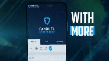 FanDuel Sportsbook TV Spot, 'More Is Always More: Big Game' - Thumbnail 2