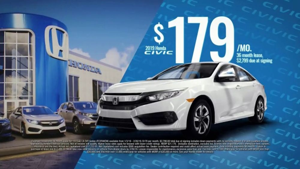 2019 Honda Civic TV Commercial, 'Trade and Save' [T2]