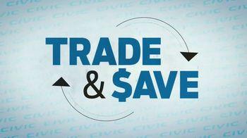 2019 Honda Civic TV Spot, 'Trade and Save' [T2] - Thumbnail 4
