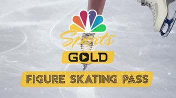 NBC Sports Gold Figure Skating Pass TV Spot, 'The World's Best' - 80 commercial airings