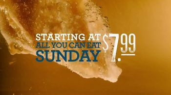 Long John Silver's All You Can Eat Sunday TV Spot, 'Yes, It's True'